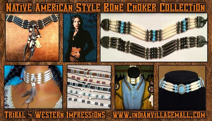 Handmade Bone Choker Collection From Tribal And Western Impressions- www.indianvillagemall.com