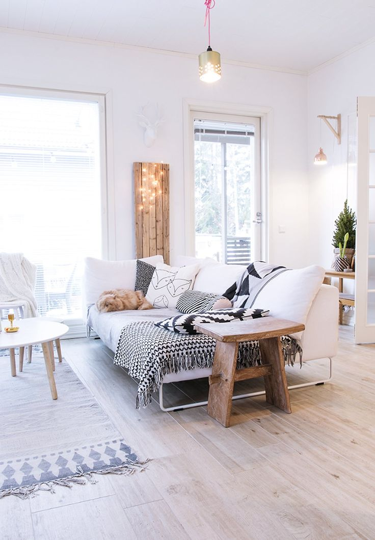 Naturally Beautiful Finnish Home Tour - decor8