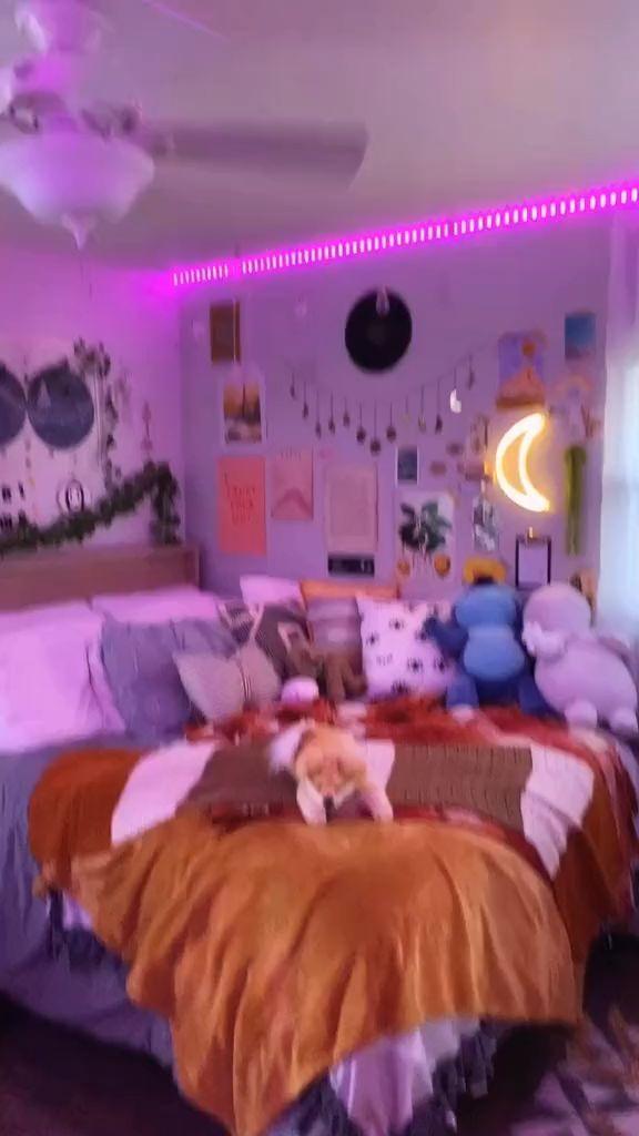 B A R B I E Doll Gang Hoe Pinterest Jussthatbitxh Download The App Mercari Use My Code Uznpku To S Led Lighting Bedroom Neon Bedroom Room Ideas Bedroom