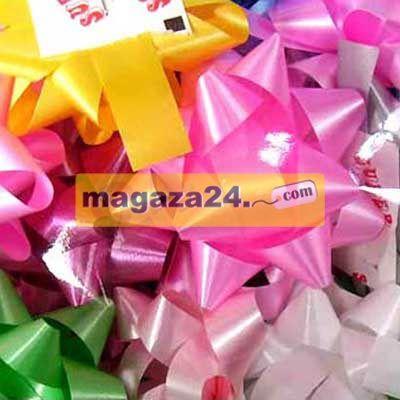 San Yıldız Paket Süsü 4,5 cm Mat Karışık 100 Adet, Magaza24
