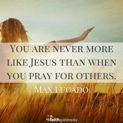 Praying for Others - The quickest way to douse the fire of anger is with a bucket of prayer. Rather than rant, rave, or seek revenge, pray. Jesus did this. While hanging on the cross, He interceded for His enemies: