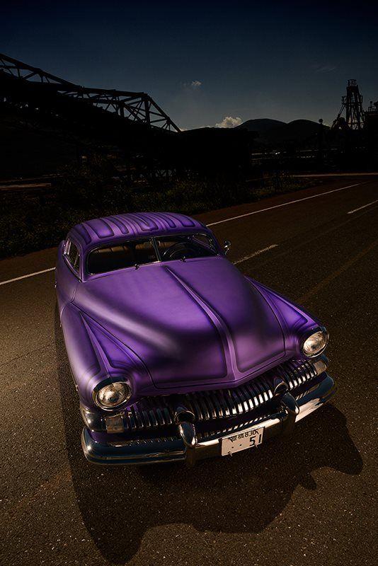 51 Merc 2 door coupe great color...