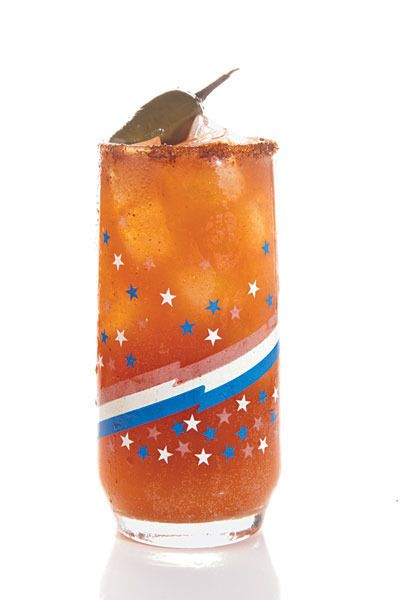 Michelada by Saveur. Mexican lager is refreshing on a hot beach day ...