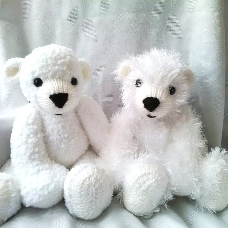 Polar Bear Rug Knitting Pattern : Best images about knitted toys on pinterest free