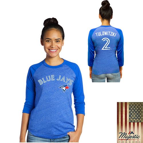 Toronto Blue Jays Troy Tulowitzki Premium Women's Name