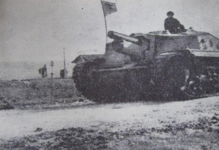 Zrínyi II in Romanian service near Cluj (Kolozsvár in Hungarian) in late 1944.