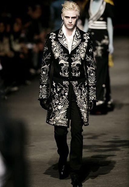 baroque inspired fashion men - photo #1