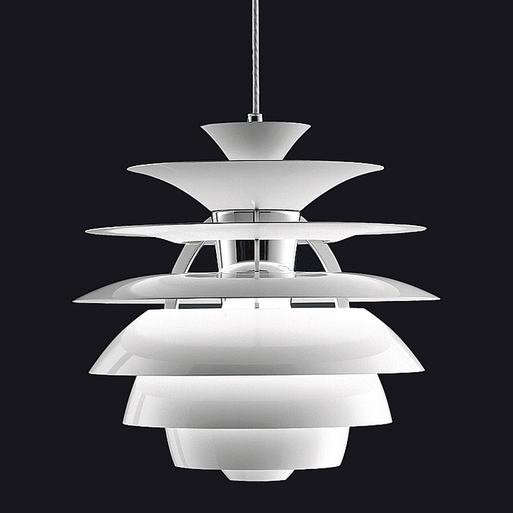PH Snowball Pendant, Louis Poulsen. Design by Poul Henningsen.