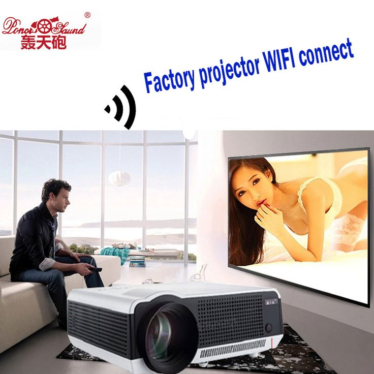 86wifi Hot Sale! 2017 Newest Original Poner Saund Android 4.4 DLP Projector WiFi Bluetooth factory projector PK Smart television