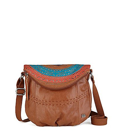 The Sak Large Deena CrossBody Bag-Brown