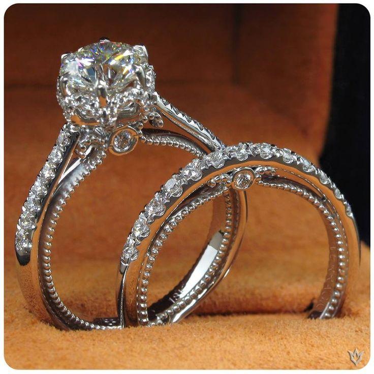 From Verragio's Classic Collection, Beautiful Simplicity! http://www.emeraldladyjewelry.com/catalog/bridal-engagement/?brand=verragio