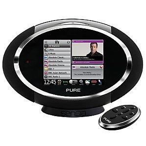 PURE Sensia DAB Internet Radio Audio System, Black