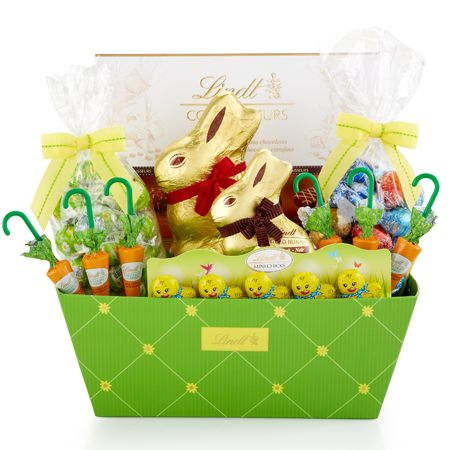 72 best lindt sweets images on pinterest baskets chocolates and easter selections gift basket negle