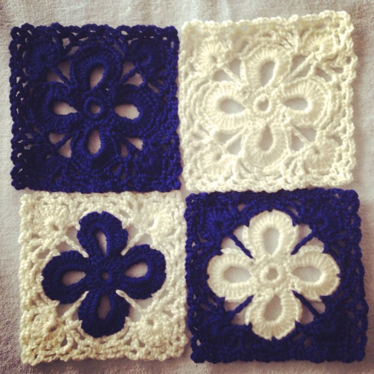 Now I'm working on Flower motif crochet for bed cover♡