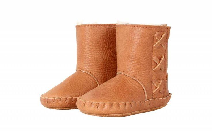 Donsje Rika Boots Cognac leather + fur N E W C O L L E C T I O N Donsje staat online!! Many styles online @ http://www.stylingandco.com/nl/kids