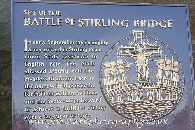 Memorial to Battle of Stirling Bridge