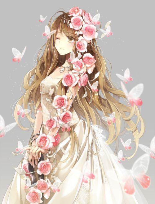 Beautiful anime girl