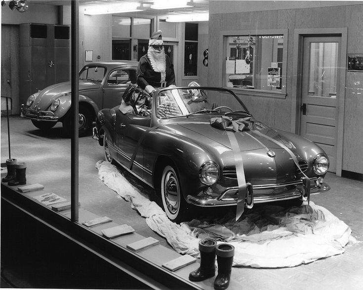 VW Karmann-Ghia Cabrio | At a VW dealership in the swinging … | Flickr - Photo Sharing!