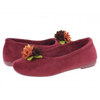 Papuci casa dama Gordac Gioseppo burdeos #homeshoes #cozy #Shoes