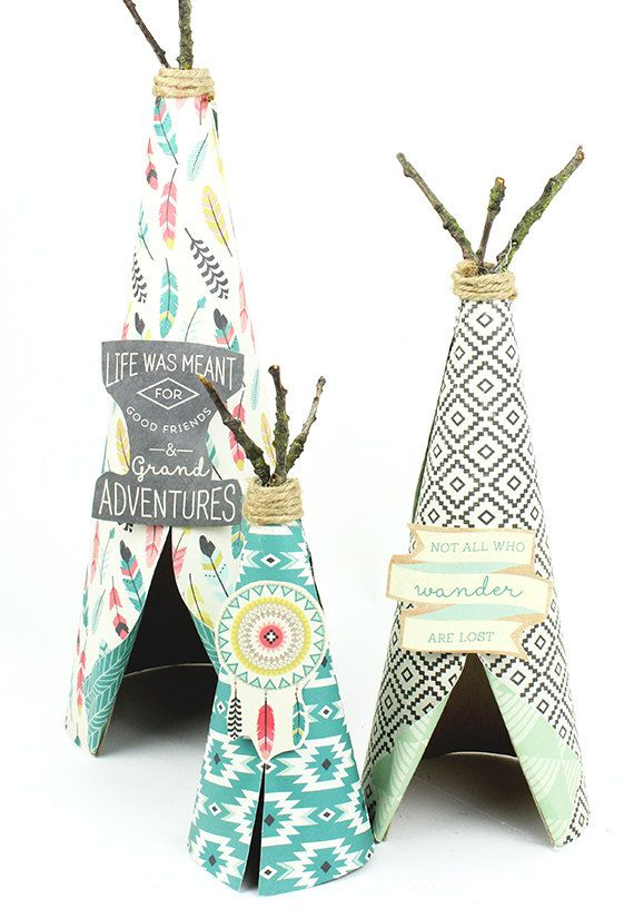 Teepee Party Decor Tribal Bohemian Pow Wow by thepartiesthatpop