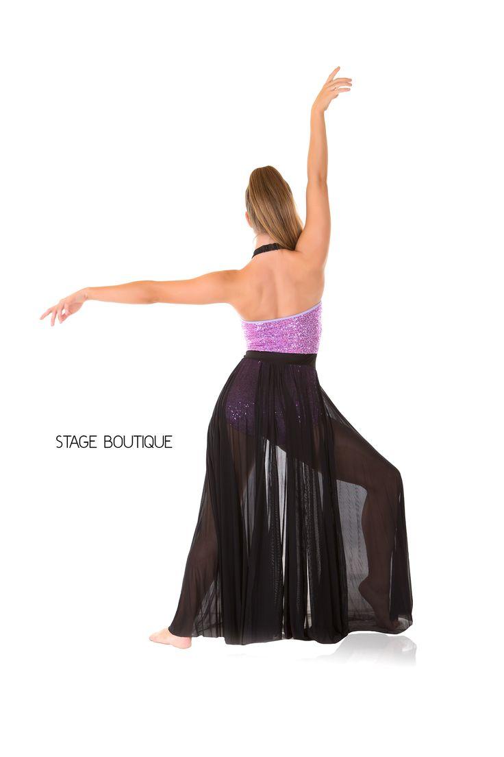 LYRICAL DRESS - SIGNATURE, $69, Black, Purple Sequin Dance ...