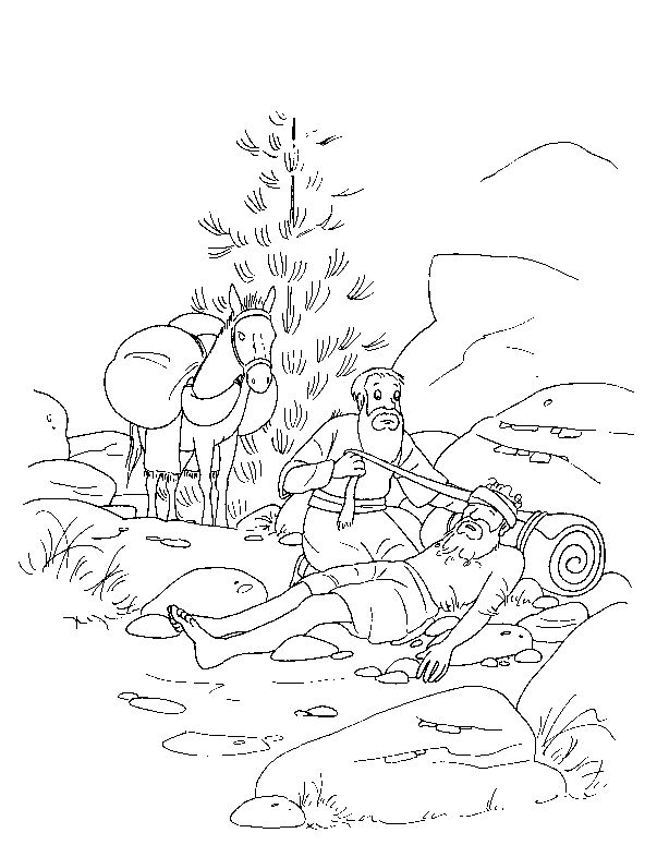 coloring page bible stories bible stories