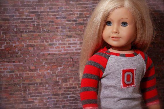 Trendy Ohio State OSU BASEBALL TEE for American by closet4chloe, $10.00