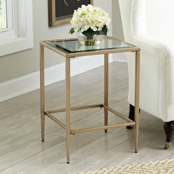 17 Best Images About Gold Side Tables On Pinterest | Furniture