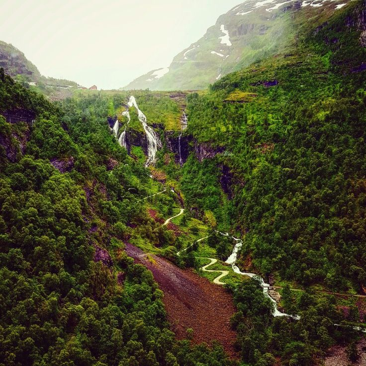 Somewhere in Flåm, Norway