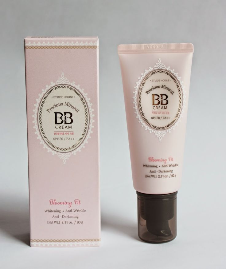 "Rosalie & Violetta: Etude House ""Precious Mineral BB Cream Blooming Fit""  #etudehouse #Beauty #Makeup #cosmetic #skincare #bbcream"