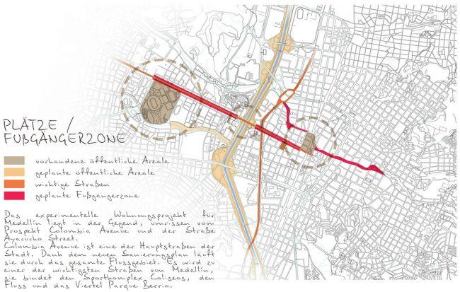 Анализ. Проект «Совместный Дом. Экспериментальное социальное жилье в г. Медельин, Колумбия». © Автор: Иван Ильяков