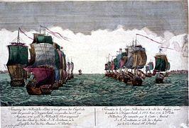 De Vierde Engels-Nederlandse Oorlog (1780-1784) was een oorlog tussen de Republiek der Zeven Verenigde Nederlanden en Groot-Brittannië. Pas in mei 1781 verklaarde de Republiek de oorlog aan Engeland, nadat dat land dat op 20 december 1780 had gedaan. → Slag bij de Doggersbank
