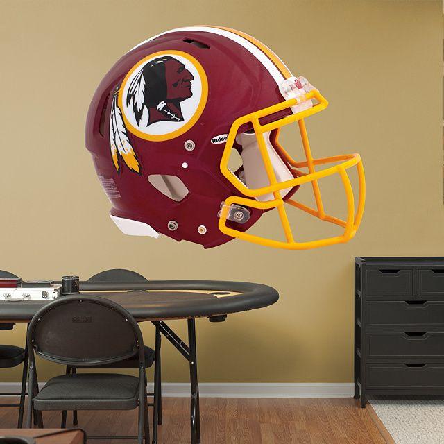 Exceptional Washington Redskins Helmet REAL.BIG. Fathead U2013 Peel U0026 Stick Wall Graphic |  Washington Nice Look