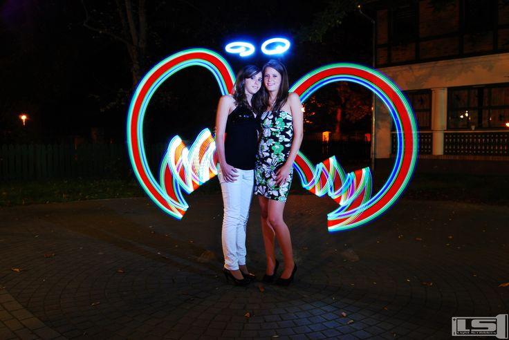 Light Scribblers's lightpainting (Light Scribblers fényfestése)