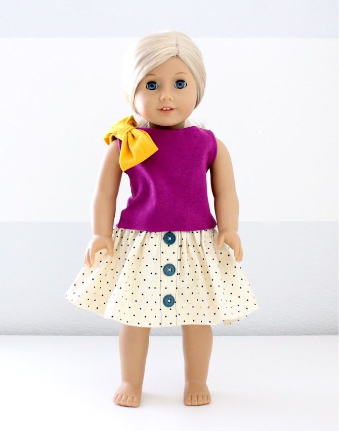 wonderful ideas for making your own American Girl Doll clothes at MADE