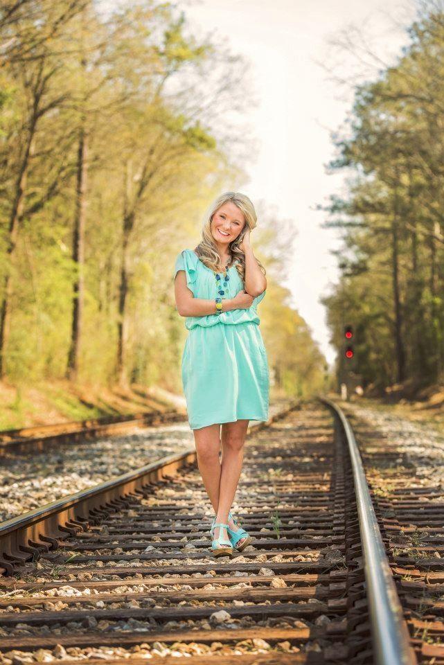 Senior Photography Railroads Graduation Senior Picture