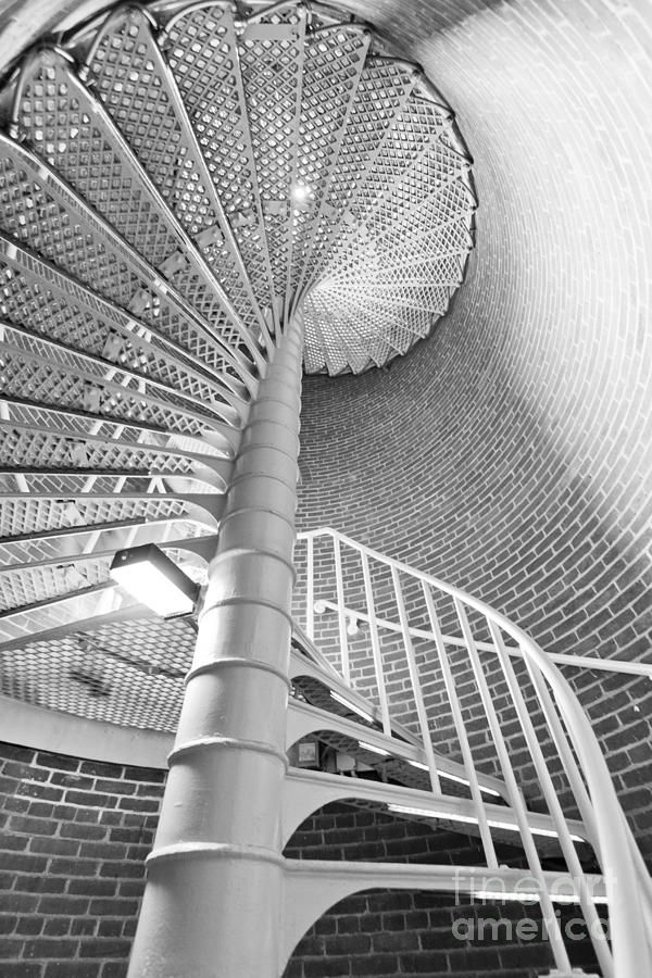 Image detail for -Cape May Lighthouse Stairs Photograph - Cape May Lighthouse Stairs ...