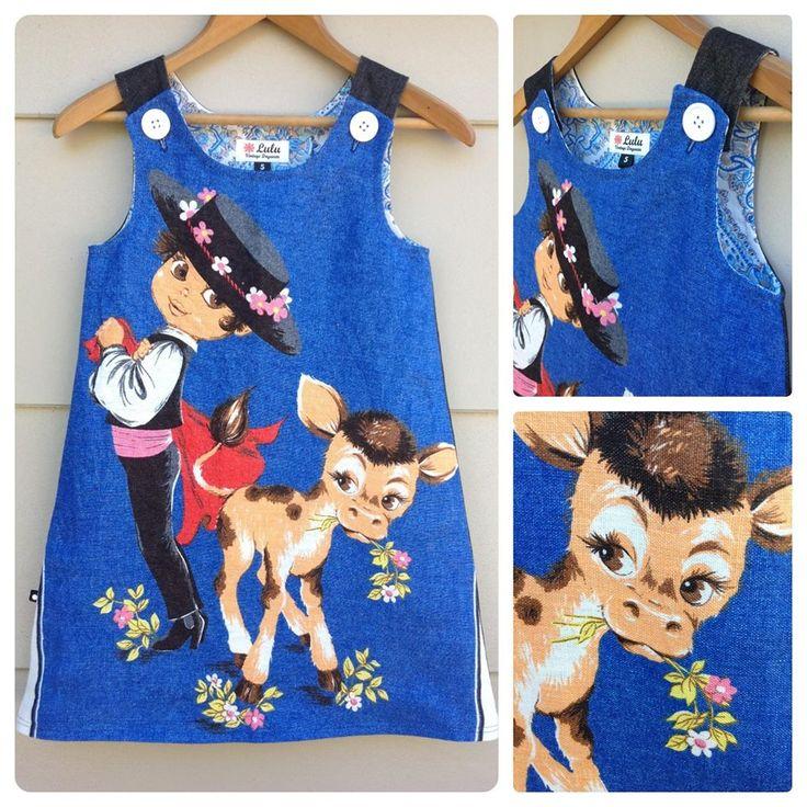 Lulu Vintage Daywear Signature Pinafore https://www.facebook.com/Luluscloset.nz?fref=ts