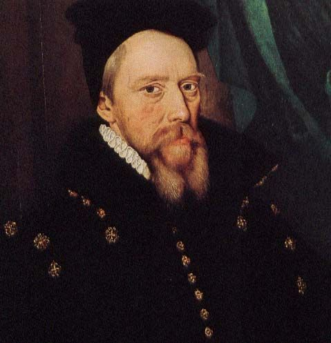 William Cecil wrote in a letter that Dudley could be planning to poison his wife the day before Amy died