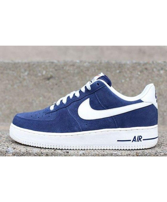 best service 8e8e6 c913b Nike Air Force 1 Low Blazer Pack Blue Shoes UK Sale