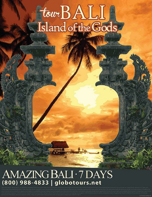 Travel Poster for Bali