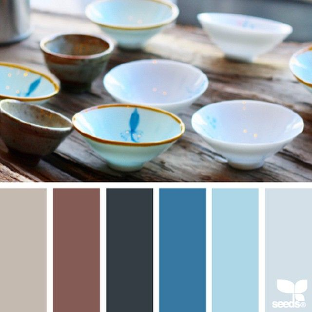 today's inspiration for { bowled hues } is by @tinas411 ... i love the lighting and textures in Tina's photo so much ~ what a gorgeous contrast between the rustic wood and the delicate bowls ~ i also love the mixing of translucent and opaque bowls ... thank you for sharing this inspiring photo in #SeedsColor , Tina!