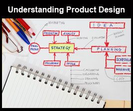 Product design is the process whereby product designers conceptualize and evaluate ideas before turning them into products ready to be sold by a business to