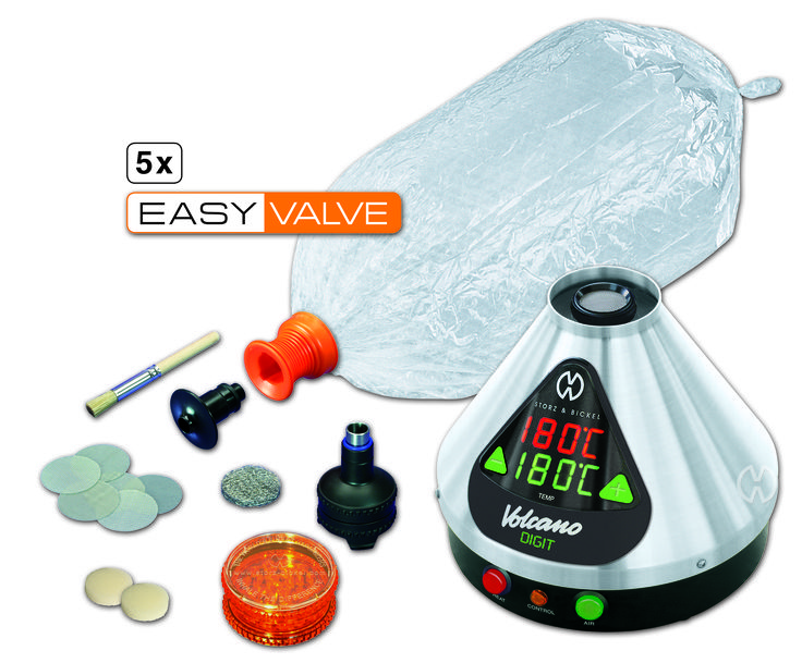 VOLCANO DIGIT with EASY VALVE Set