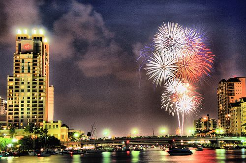 tampa 4th of july fireworks 2012
