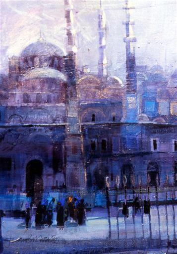 Morning Light, Istanbul 20 x 25, Jean Martin