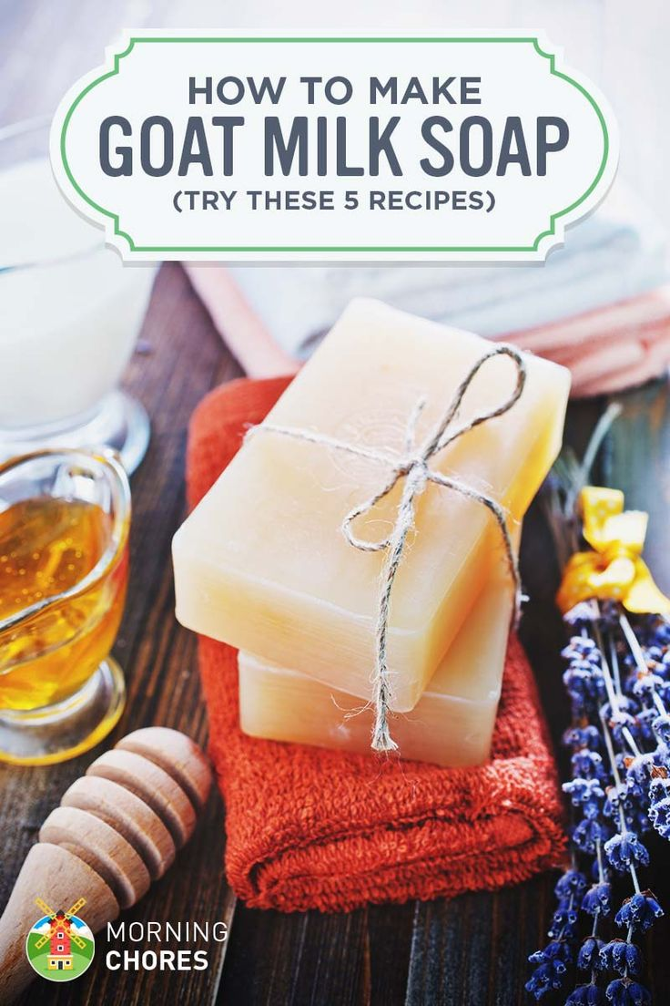 Make creamy and healthy goat's milk soap (with or without lye)   – Goat soap