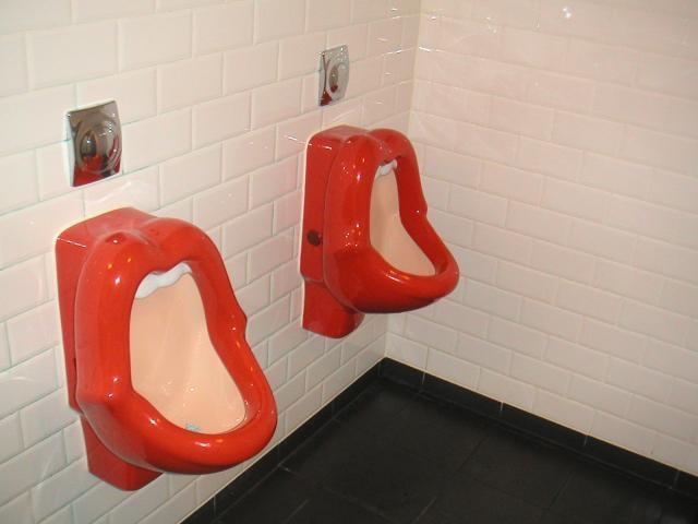 Urinal art.