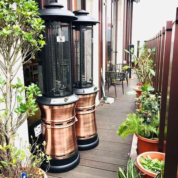Shop Stylish Round Outdoor Gas Heater Gas Patio Heater Propane Patio Heater Patio Heater