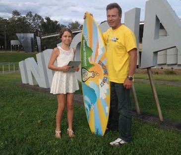 11 year old Lili Haigh-Neale (pictured) from Brisbane, beat out dozens of adults in a hotly contested Start Up competition held over the weekend. Competing in the first ever Start Up Weekend to be run on Queensland's Sunshine Coast, Lili came in second with her pitch for an app targeted at budding 10-15 year old entrepreneurs called IdeallyNow.  As featured on http://www.australianwomenonline.com/  PR By The Creative Collective